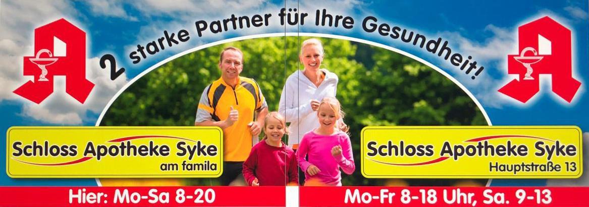 Ihre Schloss-Apotheke Syke Hauptstraße und Schloss-Apotheke Syke am famila